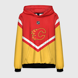 Толстовка-худи мужская NHL: Calgary Flames цвета 3D-черный — фото 1