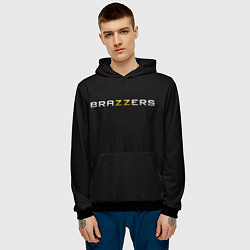 Толстовка-худи мужская Brazzers цвета 3D-черный — фото 2