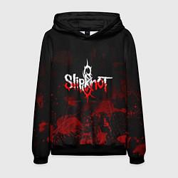 Толстовка-худи мужская Slipknot: Blood Blemishes цвета 3D-черный — фото 1