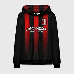 Толстовка-худи мужская AC Milan цвета 3D-черный — фото 1