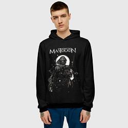 Толстовка-худи мужская Mastodon: Death Came цвета 3D-черный — фото 2