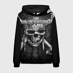 Толстовка-худи мужская Iron Maiden цвета 3D-черный — фото 1