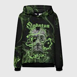 Толстовка-худи мужская Toxic Sabaton цвета 3D-черный — фото 1
