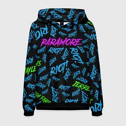 Толстовка-худи мужская Paramore RIOT! цвета 3D-черный — фото 1