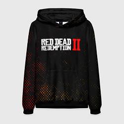 Толстовка-худи мужская RED DEAD REDEMPTION 2 цвета 3D-черный — фото 1