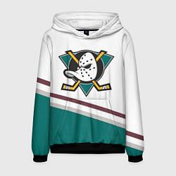 Толстовка-худи мужская Anaheim Ducks Selanne цвета 3D-черный — фото 1