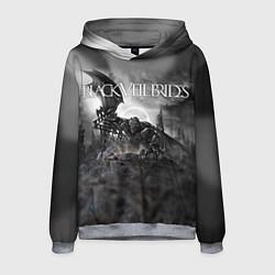 Толстовка-худи мужская Black Veil Brides: Faithless цвета 3D-меланж — фото 1