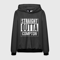 Толстовка-худи мужская Straight Outta Compton цвета 3D-черный — фото 1