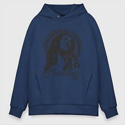 Мужское худи оверсайз Bob Marley: Island