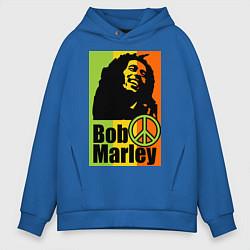 Мужское худи оверсайз Bob Marley: Jamaica