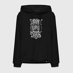 Толстовка-худи хлопковая мужская Parkway Drive цвета черный — фото 1