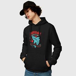 Толстовка-худи хлопковая мужская Parkway Drive: Unbreakable цвета черный — фото 2