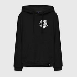 Толстовка-худи хлопковая мужская Supernatural Pentagram цвета черный — фото 1