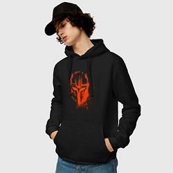 Мужская толстовка с капюшоном с принтом The Armorer The Mandalorian, цвет: черный, артикул: 10217784500010 — фото 2