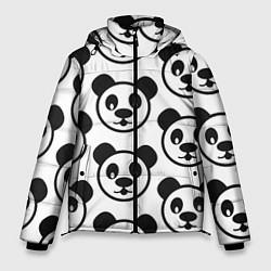 Куртка зимняя мужская Panda цвета 3D-черный — фото 1