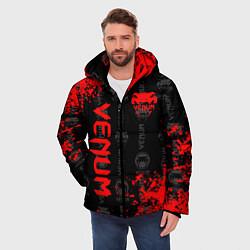Куртка зимняя мужская VENUM цвета 3D-черный — фото 2