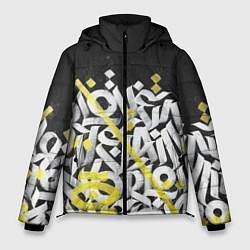Куртка зимняя мужская GRAFFITY цвета 3D-черный — фото 1