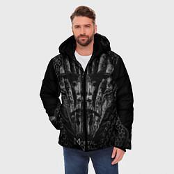 Куртка зимняя мужская Mortal Shell цвета 3D-черный — фото 2