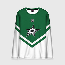 Лонгслив мужской NHL: Dallas Stars цвета 3D — фото 1