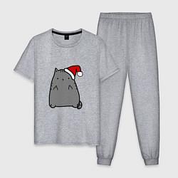 Мужская пижама New Year Kitty FCK