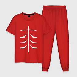 Пижама хлопковая мужская TOKYO GHOUL цвета красный — фото 1