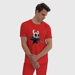 Пижама хлопковая мужская Hollow Knight цвета красный — фото 2