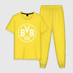 Пижама хлопковая мужская HENTAI HEAVEN цвета желтый — фото 1