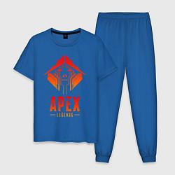 Пижама хлопковая мужская APEX LEGENDS CRYPTO цвета синий — фото 1