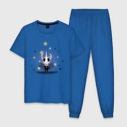 Пижама хлопковая мужская Hollow knight Полый рыцарь цвета синий — фото 1