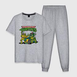 Мужская пижама Черепашки-ниндзя
