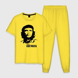 Пижама хлопковая мужская Эрнесто Че Гевара цвета желтый — фото 1