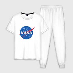 Мужская пижама NASA: Logo