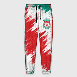Брюки на резинке мужские FC Liverpool цвета 3D-принт — фото 1