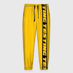 Брюки на резинке мужские ASAP Rocky: Yellow Testing цвета 3D-принт — фото 1