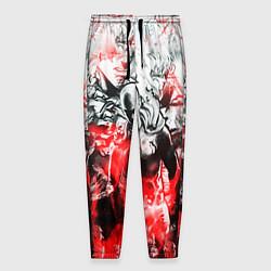 Брюки на резинке мужские One-Punch Man Collage цвета 3D-принт — фото 1