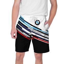 Шорты на шнурке мужские BMW BRAND COLOR цвета 3D — фото 1