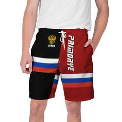 Шорты на шнурке мужские Primorye, Russia цвета 3D — фото 1