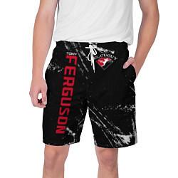Шорты на шнурке мужские Tony Ferguson цвета 3D-принт — фото 1