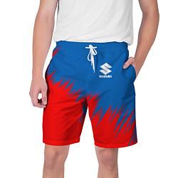 Шорты на шнурке мужские SUZUKI цвета 3D — фото 1