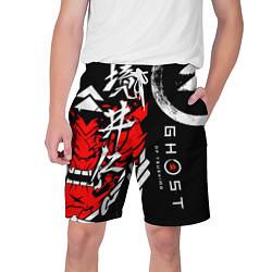 Шорты на шнурке мужские Ghost of Tsushima цвета 3D — фото 1