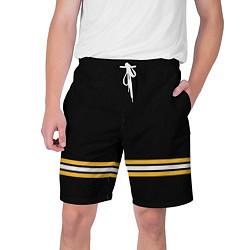 Шорты на шнурке мужские Бостон Брюинз Форма2 цвета 3D-принт — фото 1