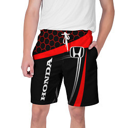 Шорты на шнурке мужские HONDA ХОНДА SPORT цвета 3D — фото 1