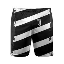 Шорты спортивные мужские Juve: B&W Lines цвета 3D — фото 1