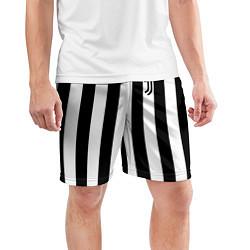Шорты спортивные мужские FC Juventus цвета 3D — фото 2