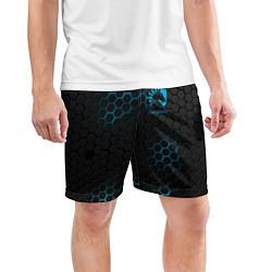 Шорты спортивные мужские Team Liquid: Carbon Style цвета 3D — фото 2