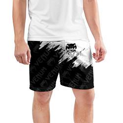 Шорты спортивные мужские VENUM цвета 3D-принт — фото 2