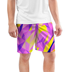 Шорты спортивные мужские Texture цвета 3D — фото 2