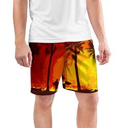Шорты спортивные мужские Summer Surf цвета 3D — фото 2