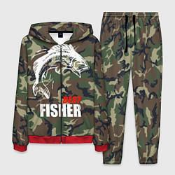 Костюм мужской Best fisher цвета 3D-красный — фото 1