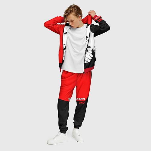 Мужской костюм Че Гевара / 3D-Красный – фото 3